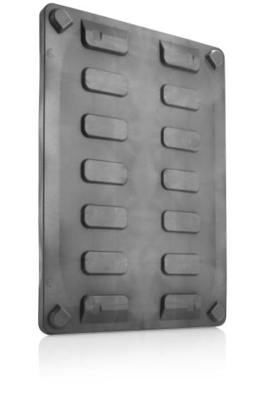 Palletbox CB3 deksel