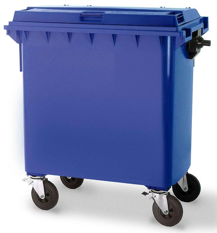 Vierwielcontainer 770 liter