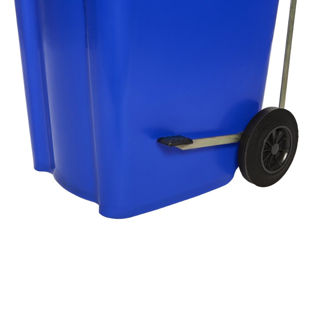 Voetpedaal Minicontainer