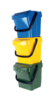 Sorteercaddy 30 Liter Plus